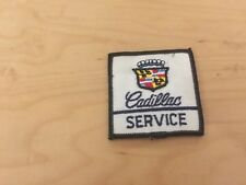 cadillac service  patch,  1970's, new old stock