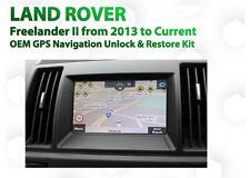 Land Rover Freelander 2 OEM gps Navigation sat Nav Map unlock and install