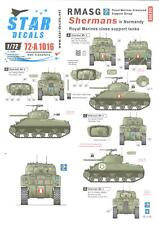 Star Decals 1/72 ROYAL MARINES ARMOURED SUPPORT GROUP SHERMAN TANKS IN NORMANDY
