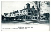 Early 1900s Central House, Ashburnham, MA Postcard *5Q(2)1