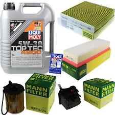 Inspection Kit Filter Liqui Moly Oil 5 L 5W-30 for Suzuki SX4 Gy 1.6 Ddis