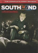SOUTHLAND (Uncensored) - Season 1. Kevin Alejandro (2xDVD BOX SET 2010)