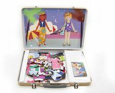 Kaper Kidz Children's Magnetic Wooden Dressing Dress-up Girl Toy! 109 pieces!