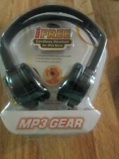 Mp3 Gear Cordless Headset For iPod Nano Stereo Sound (No Batteries/Wires Needed)