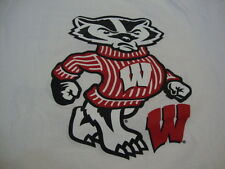 NCAA Wisconsin Badgers College University Fan Fight Song Jansport T Shirt M