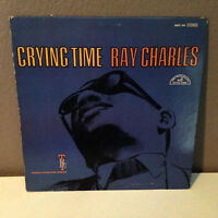 "RAY CHARLES - Crying Time - 12"" Vinyl Record LP - VG+"