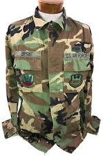 MILITARY USAF ACU ARMY COMBAT UNIFORM COAT WOODLAND GREEN CAMO MEDIUM X-LONG