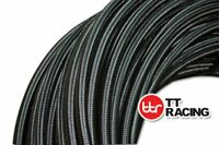 """1500PSI Stainless Steel Braided Hose AN-10 Fuel/Oil/E85/Water 5/8"""" - 5 FT +"""