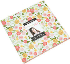 "Lollipop Garden Moda Layer Cake 42 100% Cotton 10"" Precut Quilt Squares"