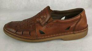 Rieker mocasines cuero zapato bajo zapatos caballero negras 40-46 13496-01 neu10