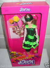 #5591 NRFB Korea Barbie in Green Dress Foreign Issue