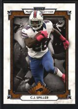 C. J. SPILLER 2013 TOPPS MUSEUM COLLECTION #97 BILLS MINT