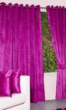 Rideaux et cantonnières roses en polyester pour la chambre à coucher