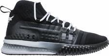 Mens Under Armour UA Project Rock 1 Training Shoes Black White 3020788 001