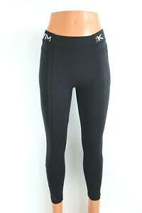 GYMSHARK NEW Black Fitted Fitness Cropped Women Leggings Size S