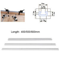 Aluminium-Alloy 400-600mm T-Track T-Slot Miter Jig Tools For Woodworking Router