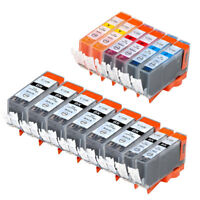 14 PK INK PGI-220 CLI-221 XL NON-OEM FOR CANON PIXMA MP980 IP4700 IP4600 MX860