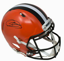 Odell Beckham Jr Cleveland Browns Signed Full Size Replica Speed Helmet JSA