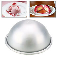 Aluminum Ball Sphere Bath Bomb Cake Pan Kitchen Baking Mold Pastry Mould Dia:8cm