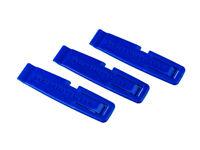 Schwalbe Tyre Levers (3pc) — AUS STOCK — Tire Iron Blue Plastic
