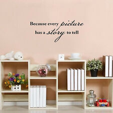 Because Every Picture Has A Story To Tell Vinyl Wall Decal Home Sticker Decor
