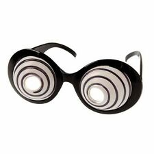 Swirling Eye Glasses - 1 pair - New - Costume Accessory