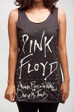 Pink Floyd The Wall Vintage WOMEN T-SHIRT DRESS Tank TOP Size S M