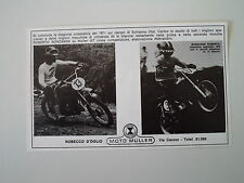 advertising Pubblicità 1972 MOTO MULLER GT 50 CROSS
