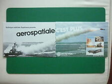 12/83 PUB AEROSPATIALE AVION HELICOPTERE MISSILE ROLAND PUMA TRANSALL FRENCH AD
