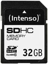 Intenso 32GB, Class 10 (12MB/s) - SDHC Karte - Retail - (3411480)