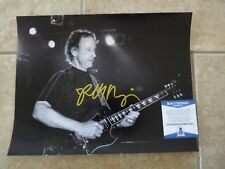 Robby Krieger The Doors Signed Autographed 11x14 Live Photo Beckett Certified #1