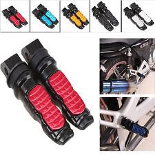 8mm Rear Universal Motorbike Footrest Foot Pegs Pedals for KTM Kawasaki Suzuki