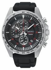 Seiko Gents Motorsport Chronograph Watch - SSB325P1 NEW