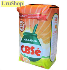 Y49 yerba mate CBSE naranja/orange tea 500G détenu palos