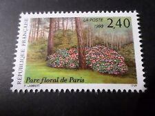 FRANCE 1993, timbre 2850, FLEURS PARC FLORAL PARIS neuf**, VF MNH STAMP, FLOWERS