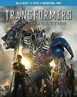 Transformers: Age of Extinction [New Blu-ray] With DVD, Subtitled, 3 Pack, Ac-
