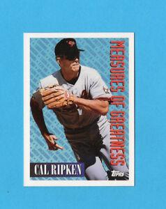 BASEBALL CARD-TOPPS 1994-n.604-CAL RIPKEN-BALTIMORE ORIOLES