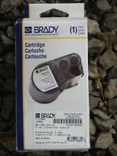 "Brady MC-250-342-YL .439"" x 7' Vinyl B-342 Black on Yellow Label Maker Cartridge"