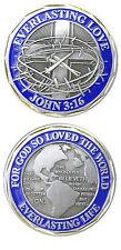 John 3:16 / Everlasting Love - Challenge Coin 2520