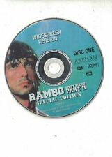 Rambo - First Blood Pt. 2 DVD, 1998 Disc One only - No case