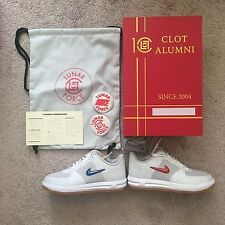 NIKE X CLOT LUNAR FORCE 1 10TH ANNIVERSARY SPECIAL BOOK BOX 9 supreme acronym