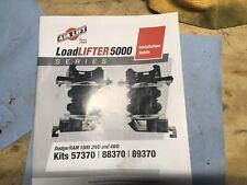 2009-2018 Ram 1500.  Air lift load lifter 5000.  Part Number 57370/88370