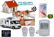 ALLARME ANTIFURTO GSM CAMPER CASA COMBINATORE CON CHIAMATA AUTOMATICA