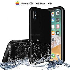 COVER per Iphone XS /Max/ XR IMPERMEABILE SUBACQUEA Waterproof SABBIA NEVE ACQUA