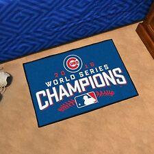 "Chicago Cubs 2016 World Series Champions 19"" X 30"" Starter Area Rug Floor Mat"