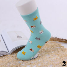 5 Colors Cat Socks Cartoon Animal Cute Pair Soft Winter Women 1 Cotto Gift 2#