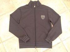 Man Emporio Armani EA7 Sport Jacket Zip Grey Size M
