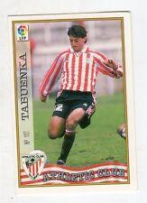 figurina card fichas - CARD LIGA 97/98 1997  - N. 117 ATHLETIC CLUB TABUENKA