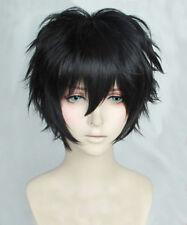 Persona 5 Kurusu Akira Wig Joker Black Cosplay Wig + Tracking No. + Wig Cap