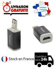 ADAPTATEUR CONVERTISSEUR MHL MICRO USB/HDMI HDTV 5 A 11 PIN SAMSUNG GALAXY S3